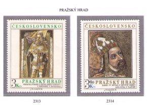 ČS 1978 / 2313-2314 / Pražský hrad **