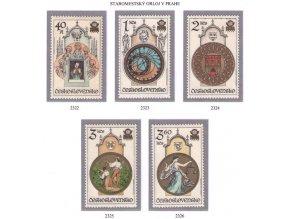 ČS 1978 / 2322-2326 / Pražský orloj **