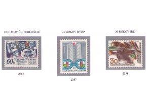 ČS 2356-2358 Výročia