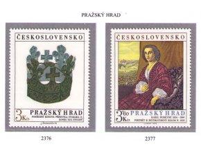 ČS 2376-2377 Pražský hrad
