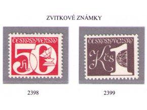 ČS 2398-2399 Zvitkové známky