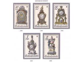 ČS 2400-2404 Historické hodiny