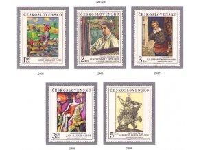 ČS 2405-2409 Umenie