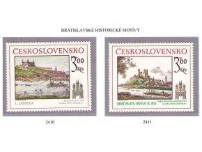 ČS 2410-2411 Bratislavské motívy