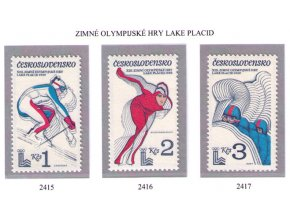 ČS 2415-2417 ZOH Lake Placid