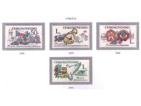 ČS 1980 / 2438-2441 / Významné výročia **