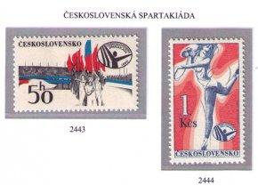 ČS 1980 / 2443-2444 / Spartakiáda **