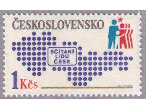 ČS 1980 / 2454 / Sčítanie ľudu **