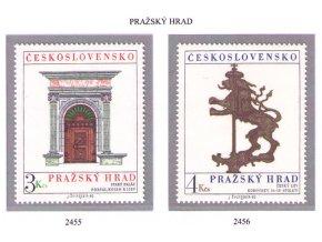 ČS 1980 / 2455-2456 / Pražský hrad **