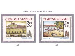 ČS 2457-2458 Bratislavské motívy