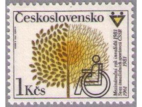 ČS 1981 / 2468 / Rok invalidov **