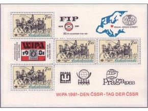 ČS 1981 / 2489 H / WIPA 1981 **