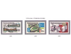 ČS 2491-2493 Socialistická výstavba