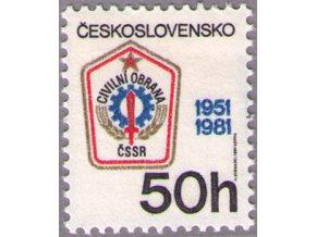 ČS 1981 / 2499 / Výročie civilnej ochrany **