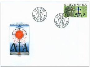 SR 1993 / 014 / Cyril a Metod FDC