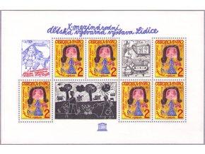 ČS 2538 H Detská výtvarná výstava Lidice