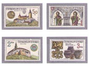 ČS 1982 / 2545-2548 / Hrady a zámky **
