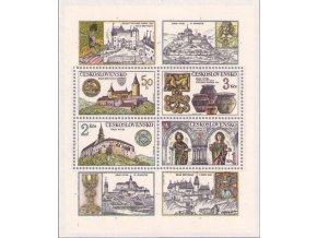 ČS 1982 / 2545-2548 H / Hrady a zámky **