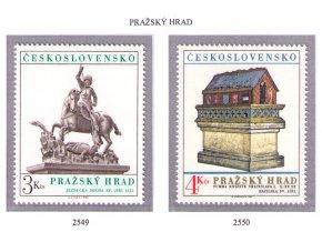 ČS 2549-2550 Pražský hrad