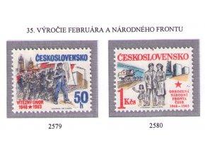 ČS 2579-2580 Politické výročia