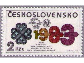 ČS 1983 / 2581 / Rok komunikácií **