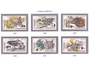 ČS 1983 / 2587-2592 / Ochrana prírody **
