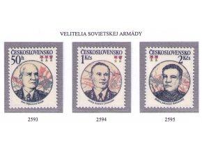 ČS 1983 / 2593-2595 / Velitelia sov. armády **