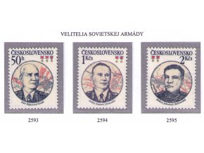 ČS 2593-2595 Velitelia sov. armády