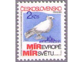 ČS 1983 / 2596 / Zhromaždenie za mier **