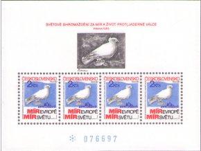 ČS 1983 / 2597 H / Zhromaždenie za mier **