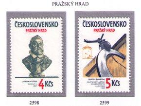 ČS 2598-2599 Pražský hrad