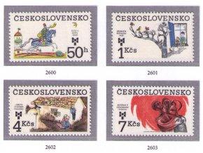 ČS 1983 / 2600-2603 / BIB 1983 **