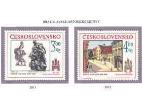 ČS 1983 / 2611-2612 / Bratislavské motívy **