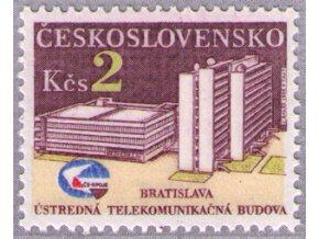 ČS 1984 / 2649 / Telekomunikačná budova **
