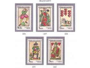 ČS 2656-2660 Hracie karty
