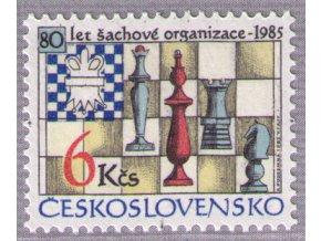 ČS 1985 / 2694 / 80 rokov šachovej federácie **