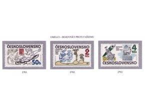 ČS 1985 / 2701-2703 / Umelci proti fašizmu **
