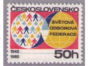 ČS 1985 / 2706 / Odborová federácia **