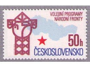 ČS 1986 / 2740 / Volebné programy NF **