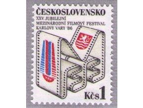 ČS 1986 / 2741 / XXV. MFF Karlove Vary **