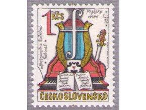 ČS 1986 / 2742 / Pražská jar **