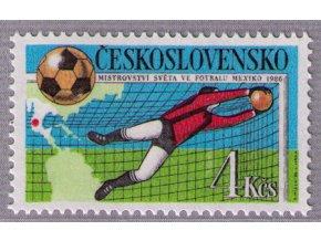 ČS 1986 / 2745 / MS vo futbale **