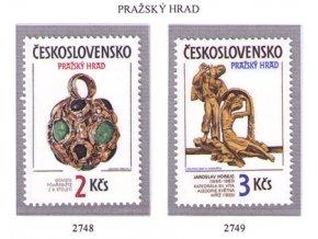 ČS 1986 / 2748-2749 / Pražský hrad **