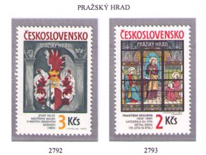 ČS 1987 / 2792-2793 / Pražský hrad **