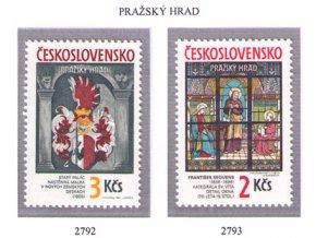 ČS 2792-2793 Pražský hrad