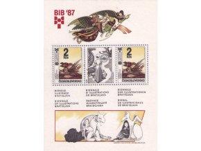 ČS 1987 / 2808 H / BIB 1987 **