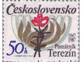 ČS 1987 / 2809 / Pamätník Terezín **