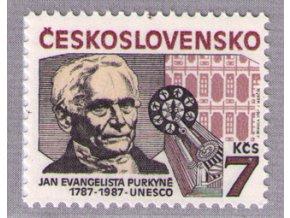 ČS 1987 / 2811 / J. E. Purkyně **