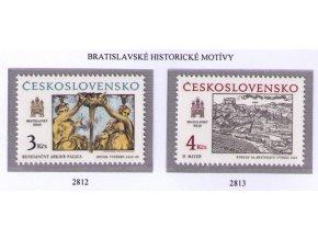 ČS 1987 / 2812-2813 / Bratislavské motívy **