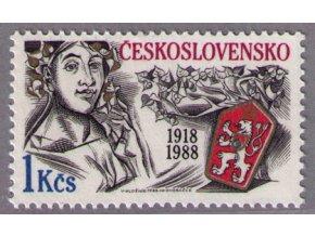 ČS 1988 / 2824 / 70 rokov Československa **